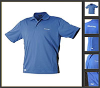 Daiwa Blue Breathable Polo Shirt