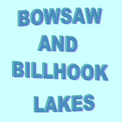 Bowsaw and Billhook Lakes