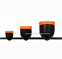 Frenzee Soft Rubber Pole Pots