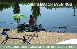 Abbi Kendal and The England Angling Team 2016